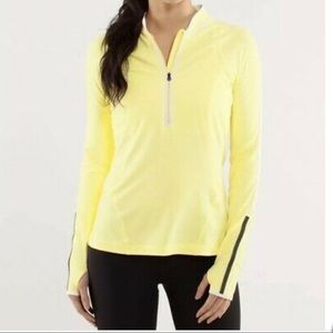 Lululemon Rise and Shine Half Zip pullover